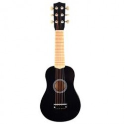 Magni guitar med 6 strenge - Sort