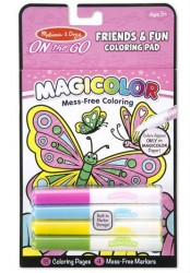 Malebog fra Melissa & Doug - Magicolor On the Go - Friends & Fun