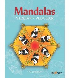 Mandalas Malebog - Vilde Dyr