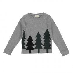 MarMar Julesweater Grey/Dark Leaf