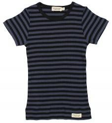 MarMar T-shirt - Navy/Sortstribet