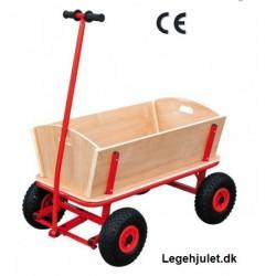 MAXI Trækvogn 4 personer luft hjul 87x49 cm