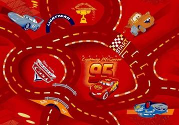 McQueen - Legetæppe med Disney Cars