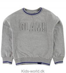 Me Too Sweatshirt - Gråmeleret m. Glimmer
