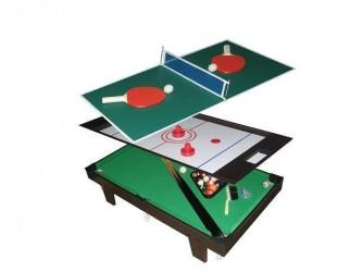 MegaLeg 3i1 Mini Bordtennis / Pool / Hockey bord