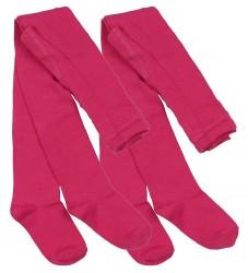 Melton Strømpebukser - 2-pak - Pink