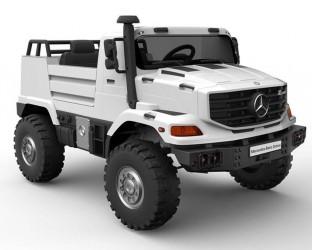 Mercedes Unimog 24Volt 2x24V motorer 2 personer