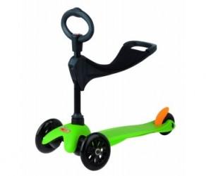 Micro Mini Sporty - Løbehjul 3 in 1 - Grøn