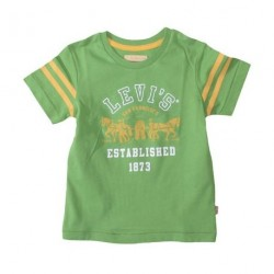 Mid green - Tee fra Levis i farver man bliver glad af. Gul og grøn.