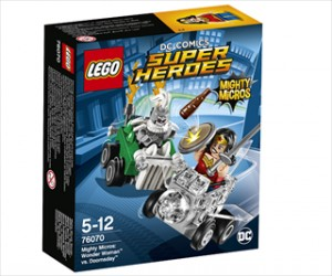 Mighty Micros: Wonder Woman mod Doomsday - 76070 - LEGO Super Heroes