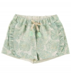 Mini A Ture X-Mas Shorts - Merle - Aqua Foam Green