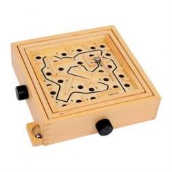 Mini Labyrint Spil i træ