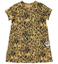 Mini Rodini Kjole - Leopard