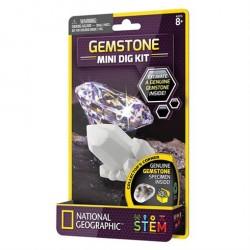 Mini udgravningssæt Gemstone fra National Geographic