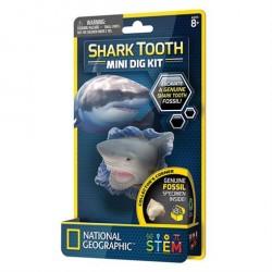 Mini udgravningssæt Shark Tooth fra National Geographic