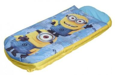 Minions Luftmadras med sovepose