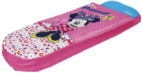 Minnie Mouse Luftmadras med sovepose