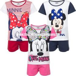 Minnie Mouse sommersæt, lyserød