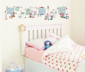 Minnie Mouse Wallstickers Historie