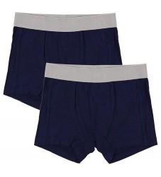 Minymo Boxershorts - 2-pak - Bambus - Navy