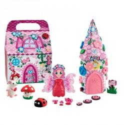 Modellervoks fra Plasticine - Udtørrer ikke - Fairyland Playset