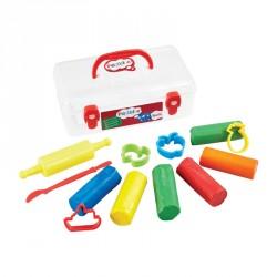 Modellervoks og værktøj fra Plasticine - Udtørrer ikke - Toolz