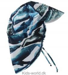 Molo Badehat - UV50+ - Nando - Whales