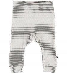 Molo Bukser - Seb - White Brown Stripes