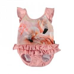 Molo Nalani UV baby-badedragt Flamingo Dream