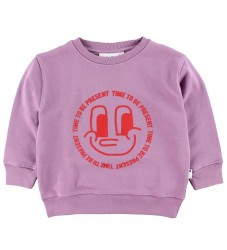 Molo Sweatshirt - Main - Time To Be Present - Lavendel