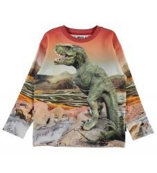 Molo Sweatshirt - Mountoo - Dino Landscape