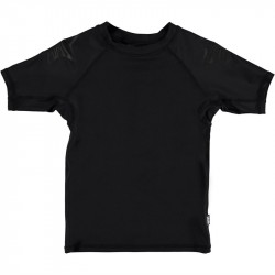 Molo UV T-shirt - Neptune Solid - Black