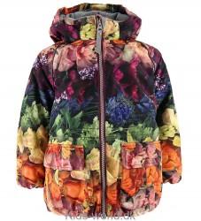 Molo Vinterjakke - Cathy - Flower Rainbow