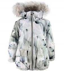 Molo Vinterjakke - Cathy Fur - Polar Bear