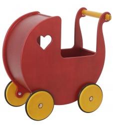 Moover Dukkevogn - Mini - Rød