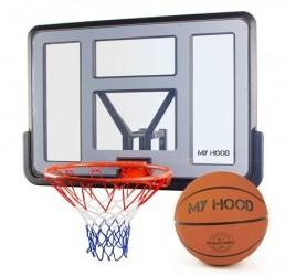 My Hood Basketkurv Pro på plade inkl bold