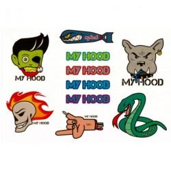My Hood Klistermærke Ark - slange