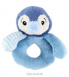 My Teddy Rangle - Pingvin - Lyseblå/Mørkeblå