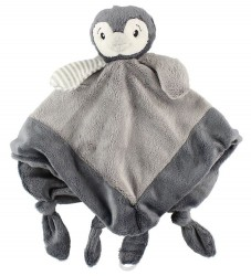 My Teddy Sutteklud - Pingvin - Grå
