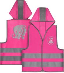 MyBuddyGuard sikkerhedsvest fra Reer - Pink (24m+)