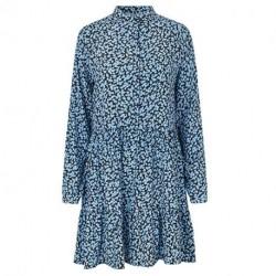 Mylie Light Blue Print Marra Dress 45877120 fra mbyM