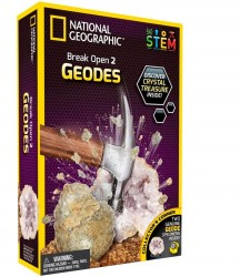 National Geographic Geodes Kit