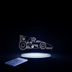 Natlampe med timer og fjernbetjening Racerbil fra Aloka SleepyLights