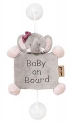 Nattou Adele Baby On Board