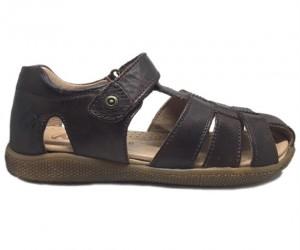 Naturino Gene sandaler med lukket hæl og tå, brun