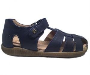 Naturino Gene sandaler med lukket hæl og tå, mørkeblå