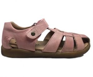 Naturino Gene sandaler med lukket hæl og tå, rosa