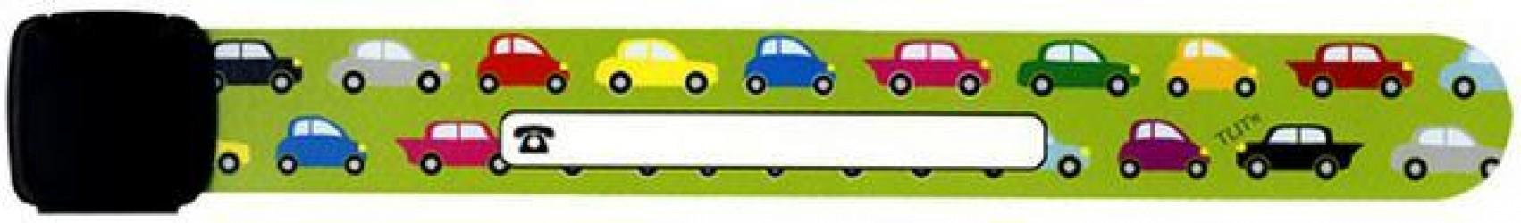 Navnearmbånd fra Infoband - Biler
