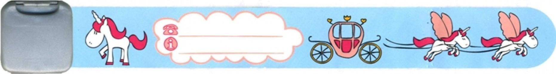 Navnearmbånd fra Infoband - Enhjørninge
