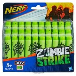 Nerf pile - Zombie Strike - 30 stk.